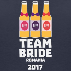Team Bride Romania 2017 Shg2u T-Shirts - Women's V-Neck T-Shirt
