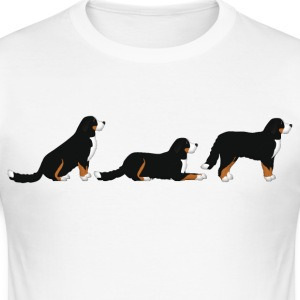 place get Bernese mountain dog T-Shirts - Men's Slim Fit T-Shirt