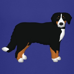 Bernese mountain dog head front Shirts - Teenage Premium T-Shirt