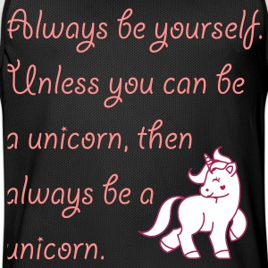 Always be a unicorn Sportbekleidung - Männer Basketball-Trikot