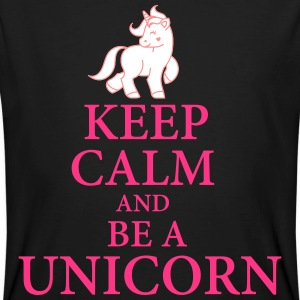 Keep calm be a unicorn T-Shirts - Männer Bio-T-Shirt