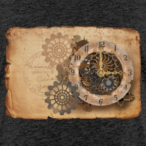 Steampunk watch Shirts - Teenage Premium T-Shirt