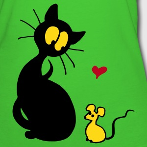 Light green Cat and Mouse Organic Products - Women's Organic T-shirt
