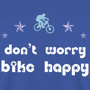 Don't worry bike happy Pullover & Hoodies - Männer Pullover