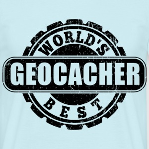World's Best Geocacher T-Shirts - Männer T-Shirt