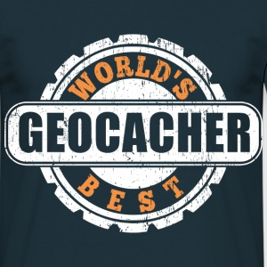Worlds Best Geocacher T-Shirts - Männer T-Shirt