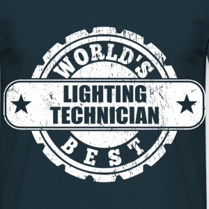 Best Lighting Technician T-Shirts - Männer T-Shirt