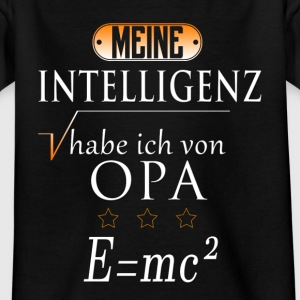 Opa Intelligenz T-Shirts - Kinder T-Shirt