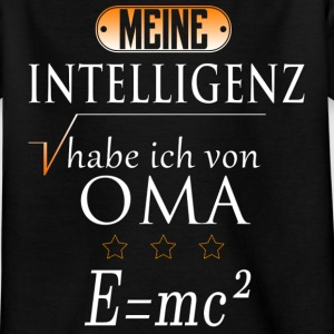 Oma Intelligenz T-Shirts - Kinder T-Shirt