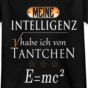 tante Intelligenz T-Shirts - Kinder T-Shirt