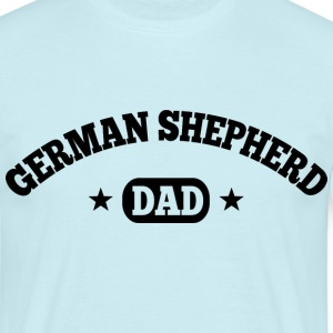 German Shepherd Dad T-Shirts - Männer T-Shirt