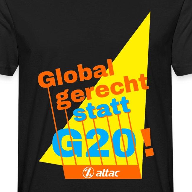 G-20 Protest-Shirt LadiesCut