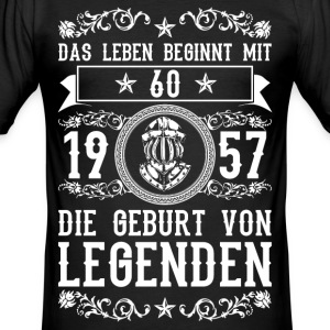 Laying 1957-60 years - 2-2017 c. T-Shirts - Men's Slim Fit T-Shirt