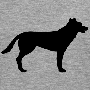 Dog, german shepherd Long sleeve shirts - Men's Premium Longsleeve Shirt