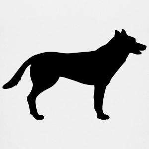 Dog, german shepherd Shirts - Teenage Premium T-Shirt