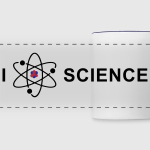 I love science Mugs & Drinkware - Panoramic Mug