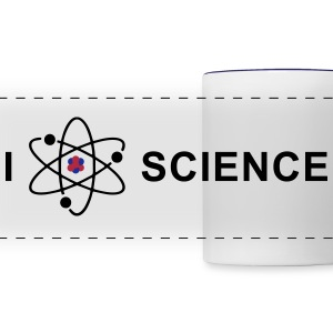I love science Bouteilles et Tasses - Tasse panorama