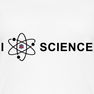 I love science Tops - Vrouwen bio tank top