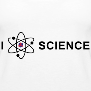 I love science Topper - Premium singlet for kvinner