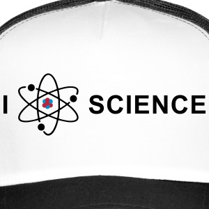 I love science Czapki  - Trucker Cap