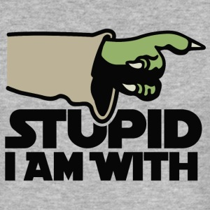 Stupid I am with FC T-Shirts - Men's Slim Fit T-Shirt