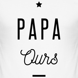 PAPA OURS Tee shirts - Tee shirt près du corps Homme