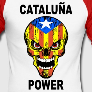 Catalogne - Cataluña Manches longues - T-shirt baseball manches longues Homme