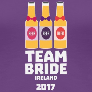 Team Bride Ireland 2017 Sht09 T-Shirts - Women's Premium T-Shirt