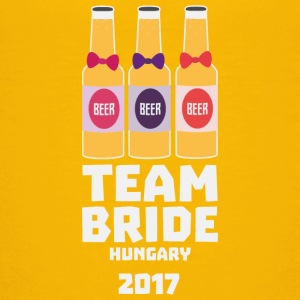 Team Bride Hungary 2017 S70qk Shirts - Teenage Premium T-Shirt