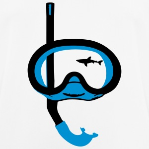 Snorkeling, diving, snorkeling mask and shark Tee shirts - T-shirt respirant Homme