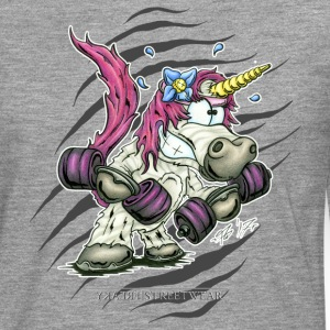Train like a unicorn Long sleeve shirts - Men's Premium Longsleeve Shirt