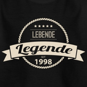 Lebende Legende seit 1998 T-Shirts - Teenager T-Shirt