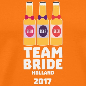 Team Bride Holland 2017 S0on9 T-Shirts - Men's Premium T-Shirt