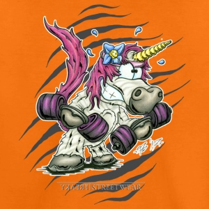 Train like a unicorn T-shirts - Børne premium T-shirt