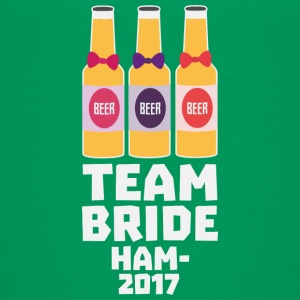 Team Bride Hamburg 2017 S8k41 Shirts - Teenage Premium T-Shirt