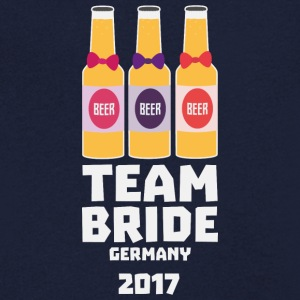 Team Bride Germany 2017 S36e6 T-Shirts - Men's V-Neck T-Shirt