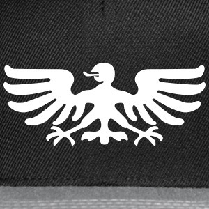Eagle Bird Coat Of Arms Animal Kepsar & mössor - Snapbackkeps