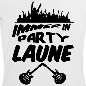 Party Laune - Frauen Kontrast-T-Shirt