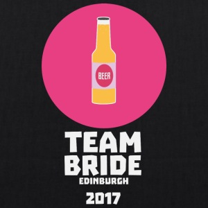 Team bride Edinburgh 2017 Henparty S513r Bags & Backpacks - EarthPositive Tote Bag