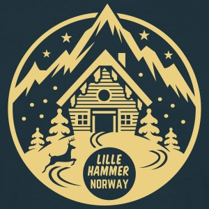 Lillehammer, Norway - T-skjorte for menn