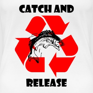 Catch and Release black T-Shirts - Frauen Premium T-Shirt
