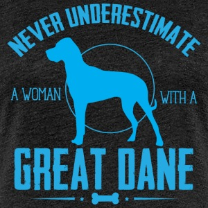 Dog Great Dane NUW T-Shirts - Women's Premium T-Shirt