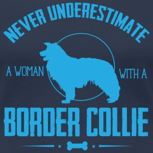 Dog Border Collie NUW T-Shirts - Women's Premium T-Shirt