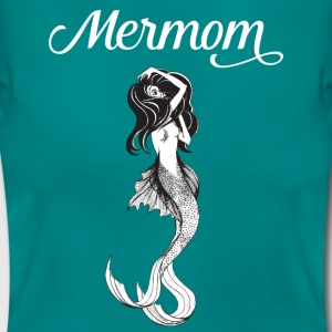 Mermaid + Mother = Mermom | Cool Mother's Day Gift T-skjorter - T-skjorte for kvinner