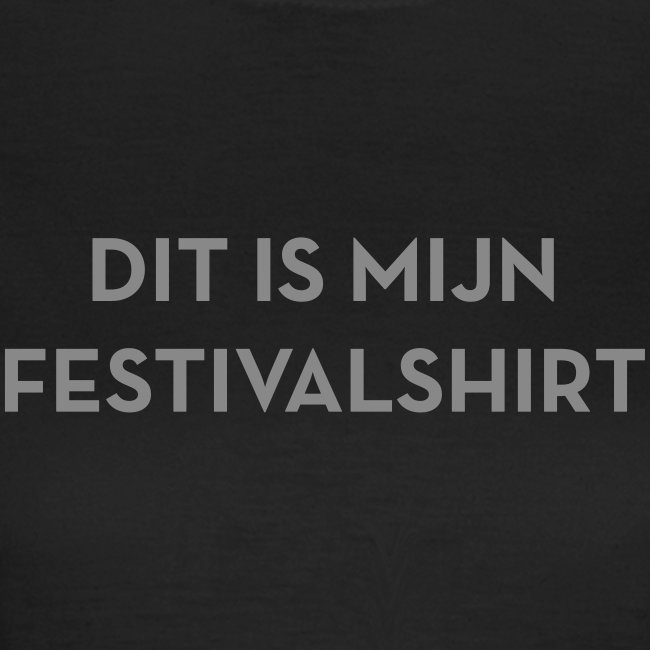 Festivalshirt vrouwen t-shirt zilverglitter