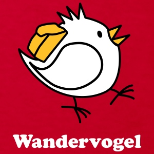 Wandervogel mit Text T-Shirts - Kinder Bio-T-Shirt