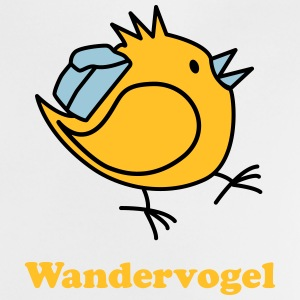 Wandervogel mit Text Baby T-Shirts - Baby T-Shirt