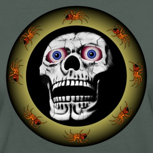 Totenkopf mit Spinnen / Skull with spiders T-Shirts - Frauen Bio-T-Shirt