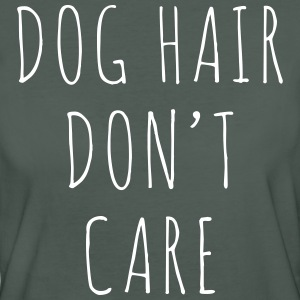 Dog Hair Funny Quote T-shirts - Vrouwen Bio-T-shirt