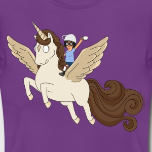Bob's Burgers Tina On Pegacorn - T-shirt dam